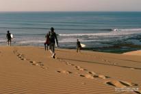 Surfeurs du Cap Sim (Maroc)