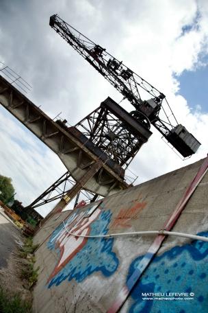 La Grue Noire Graffiti