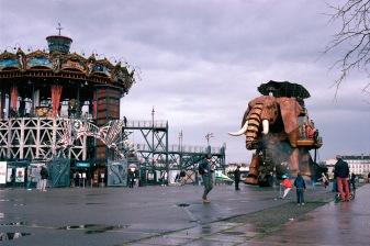 Le Carrousel et l'Elephant